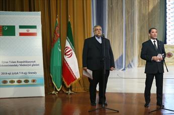 فرهنگ همواره حلقه اتصال دو ملت ايران و تركمنستان بوده است