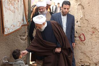 تصاویر/ بازدید امام جمعه موقت تهران از مناطق محروم حاشیه شهر تهران