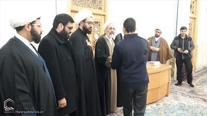 تصاویر/ تجلیل از طلاب ممتاز حوزه بیجار با حضور آیت الله اعرافی