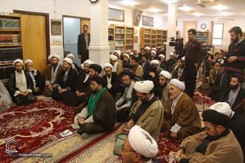 تصاویر/ دیدار جمعی از مبلغان مناطق محروم با آیت الله العظمی مکارم