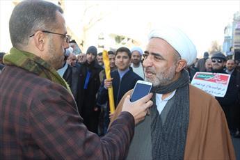 حضور پرشور مردم در راهپیمایی ۲۲ بهمن پاسخ کوبنده به دشمنان انقلاب بود
