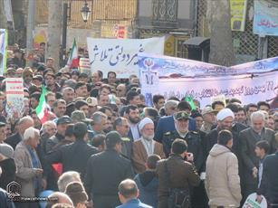 تصاویر/ راهپیمایی ۲۲ بهمن در بجنورد