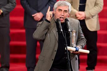 بغض «سرباز نظام» در جشنواره سی و ششم ترکید/ شکایتم را از تلویزیون به خدا می برم