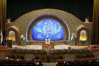اختتامیه بیست وسومین جشنواره بین المللی قرآن وحدیث المصطفی آغاز شد