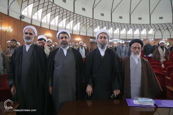 تصاویر/ تجلیل از طلاب و فضلای ممتاز استان کرمان