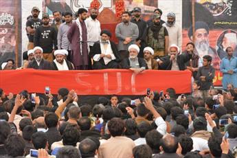سالگرد شهدای حمله تروریستی سیهون شریف پاکستان برگزار شد