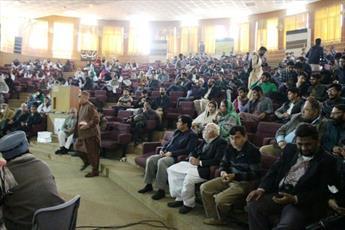 مراسم «یوم الحسین(ع)» در دانشگاه مولتان پاکستان برگزار شد +تصاویر