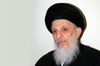 مكتب آية الله الحكيم يعزي بوفاة السيد علي عبد الحكيم الصافي