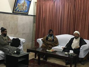 جلسه بررسی مشکلات زائران عتبات مقدس در حوزه علمیه المنتظر لاهور برگزار شد