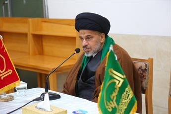 """نشست """"مظلومیت حضرت زهرا"""" در حرم مطهر عسکریین(ع) برگزار شد+ تصاویر"""