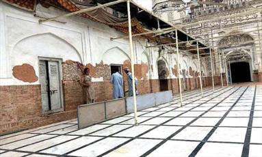 پروژه مرمت مسجد تاریخی در پیشاور آغاز شد