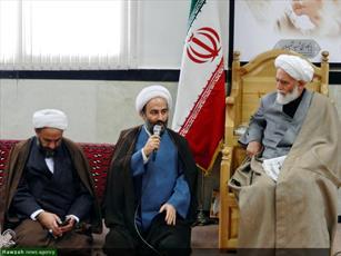 تصاویر/ دیدار مبلغان گروه تبلیغی یاس نبی(ص) با امام جمعه همدان