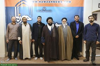 تصاویر/ بازدید رئیس شبکه ماهواره ای «سچ تی وی »  پاکستان از رسانه رسمی حوزه