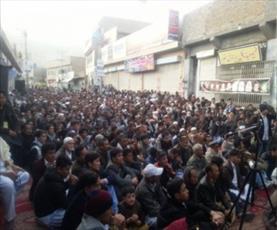 شیعیان هزاره کویته  هرگز از راه امام حسین(ع) عقب نشینی نخواهند کرد