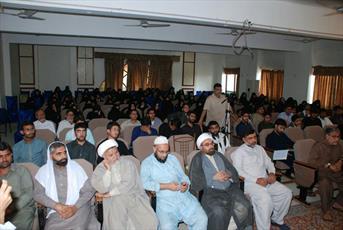 نشست علمی «فداکاری حضرت زهرا(س) برای حفظ اسلام در نگاه اهل سنت» در کراچی برگزار شد +تصاویر
