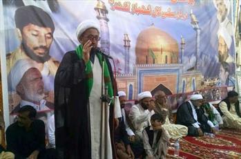 """اولین سالگرد شهدای """"سیهون شریف"""" توسط مجلس وحدت مسلمانان پاکستان برگزار شد"""