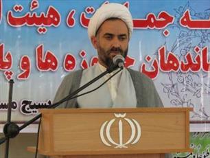 استکبار جهانی با تمامی قوا به مقابله با جمهوری اسلامی ایران آمده است