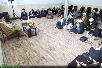 تصاویر/ جلسه درس اخلاق در  مدرسه عالی انوار طاها