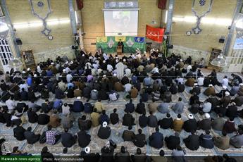 تصاویر/ نشست تولیت آستان قدس رضوی با طلاب مدرسه علمیه معصومیه قم