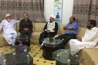 دبیرمجلس وحدت مسلمین کراچی با امیر جماعت اسلامی  کراچی دیدار کرد