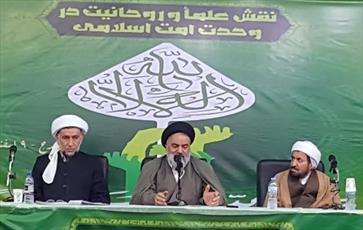 فتاوای رهبری توطئه هاي تفرقه افكنانه  را خنثی کرده است/ تنها دشمن از اختلافات امت اسلامی سود می برد