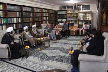 تجلیل از  ابوالشهید حجت الاسلام والمسلمین ابراهیمی+ عکس