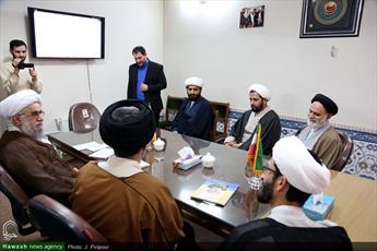 فیلم/ بازدید امام جمعه  هامبورگ از رسانه رسمی حوزه