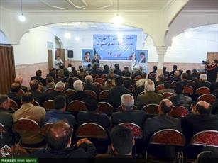 تصاویر/ جلسه توجیهی و آموزشی هیئت امنا بقاع متبرکه در همدان