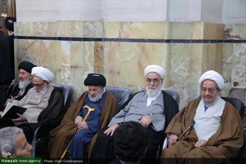 تصاویر/ مراسم بزرگداشت آیت الله العظمی گلپایگانی(ره) در مسجد اعظم