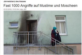 افراطیون آلمان در سال گذشته هزاربار به مسلمانان و سازمان های اسلامی حمله کرده اند