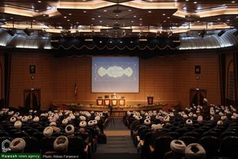 تصاویر/ دومین روز اجلاسیه مدیران مدارس علمیه سراسر کشور در قم