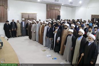 تصاویر/ نشست طلاب و روحانیون بیرجند با نماینده ولی فقیه در خراسان جنوبی
