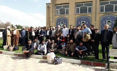 اردوی فرهنگی زیاتی طلاب کرمانشاه در مشهدالرضا(ع)
