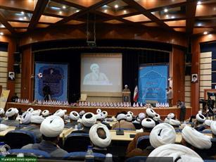 تصاویر/ نشست روحانیون، ائمه جمعه و جماعات استان همدان