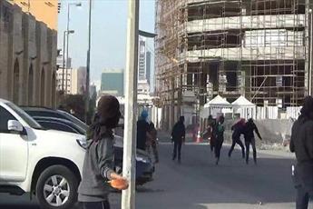 انقلابیون بحرین در اعتراض به حضور نظامی عربستان در کشور خود به خیابان ها می آیند
