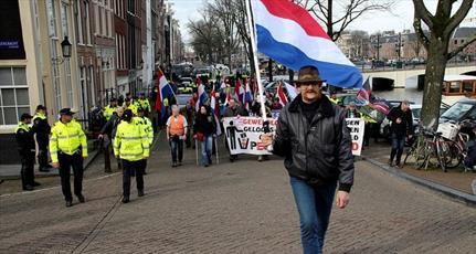 تعداد اندکی برای راهپیمایی ضداسلامی پگیدا در آمستردام حاضر شدند