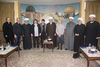 هیئتی از کلیسای انجیلی لوتری کپنهاگ با تجمع علمای مسلمان لبنان دیدار کرد