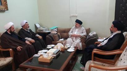 دیدار مدیر حوزه های علمیه خواهران با حجت الاسلام والمسلمین شهرستانی+ تصویر