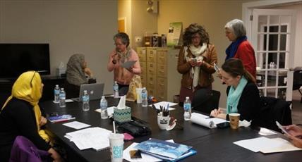 دانشجویان انجمن اسلامی در ایلینویز، افطاری « فست تون» برگزار می کنند
