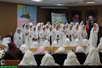 تصاویر/ جشن تکلیف دانشآموزان دختر دبستان هاجر۲ به همت مبلغات منطقه ۹ تهران