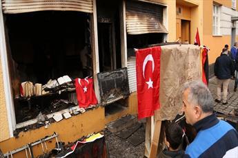 حمله و پرتاب مواد آتشزا به مساجد در آلمان