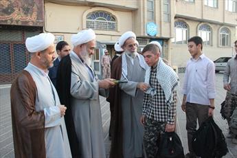 اعزام طلاب مدارس علمیه قزوین به اردوی  راهیان نور