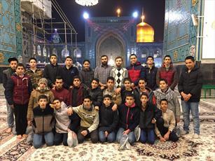 دانش آموزان نخبه محله «هرندی  تهران» به مشهد اعزام شدند+ عکس