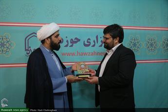 تصاویر/ بازدید مدیرکل فرهنگ و ارشاد اسلامی قم از رسانه رسمی حوزه