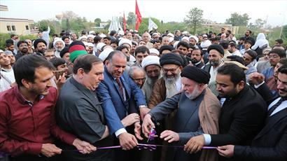 """پنجمین جشنواره """"نسیم کربلا"""" در پاکستان با حضور گسترده مردمی افتتاح شد"""