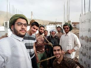 طلاب تهرانی به اردوی جهادی روستای کوئیک سرپل ذهاب اعزام شدند