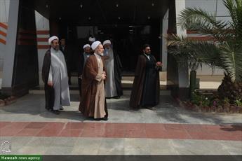 تصاویر/ سفر آیت الله اعرافی به خوزستان
