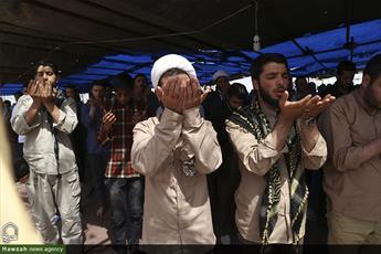 اسکان بیش از ۱۱۰ هزار زائر در پادگان شهید حبیب الهی اهواز