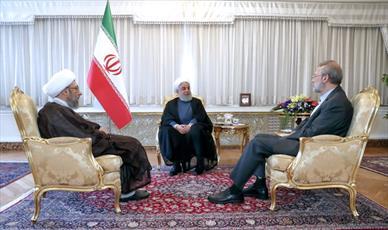 حفظ وحدت و حل مشکلات معیشتی مردم مورد تاکید سران قوا بود/ پنج اصل مورد تاکید قوا در حمایت از کالاهای ایرانی