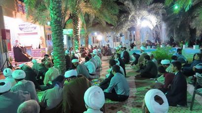 شرکت ۵۰۰ طلبه و روحانی در همایش عیدانه روحانیون جنوب فارس+ عکس